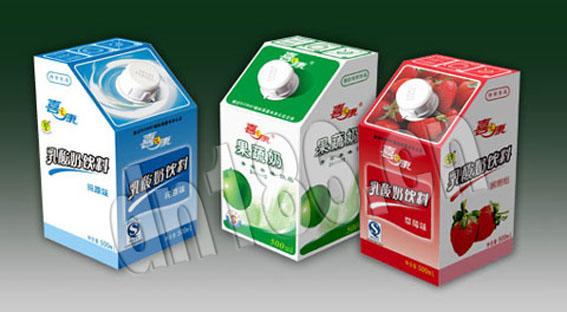 乳制饮品包装设计,武汉设计公司